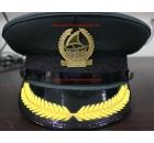 Dubai Police Peak Cap with Metal Badge