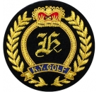 KY Golf Embroidered Blazer Badge