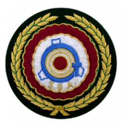 Embroidered Blazer Badge