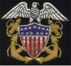 USA Embroidered Badge