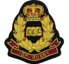 IBM Rugby Embroidered Badge