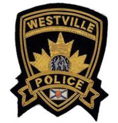 Westville Police Embroidered Blazer Badge
