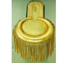 Epaulette Gold Metal Tag