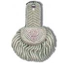 Epaulette Silver Wire Fringe