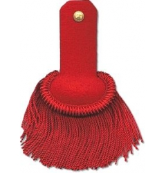Epaulette Red for Guard Uniform