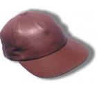 Leather Field Cap