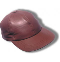 Leather Field Cap