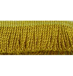 Gold Mylar Thread Fringe (Heavy)
