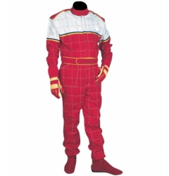 Red/White Karting Overall