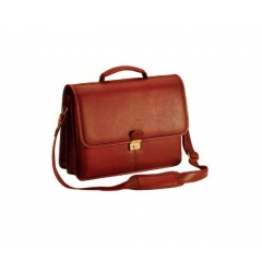 Brown Leather Bag for Laptop