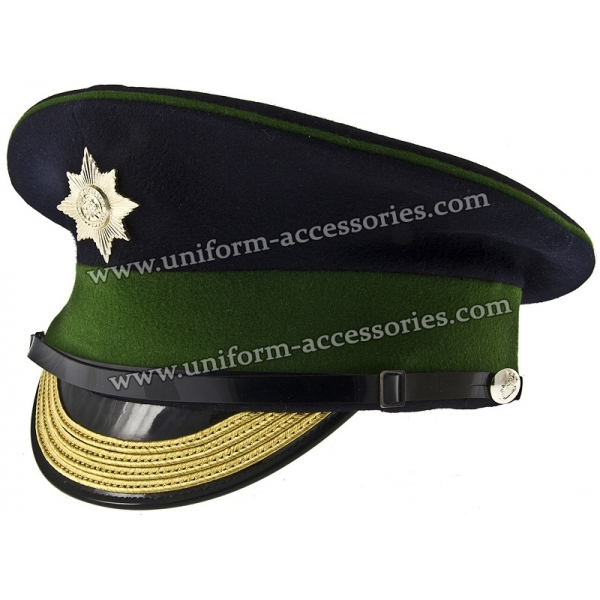 British Army Irish Guards Warrant Officer s Peaked Cap 2d2351b5743