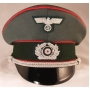 German Army Officer Visor Cap