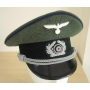 German Army Officer Visor Cap