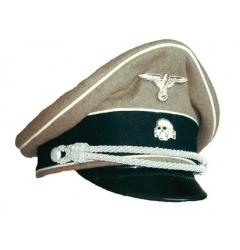 German Waffen SS Officer Visor Cap