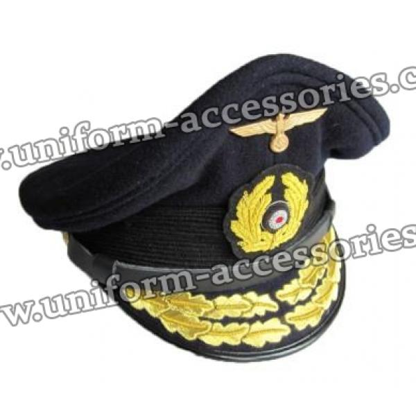 Kriegsmarine Admirals Visor Cap
