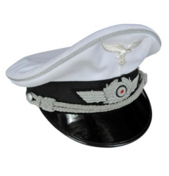 Luftwaffe Officers Summer Visor Cap