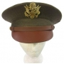 US Army Officers Service Cap - Olive